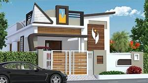 Front, Elevation, Indian, House, Designs
