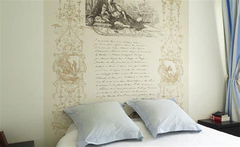chambre a coucher romantique des papiers peints panoramiques pour la chambre à coucher