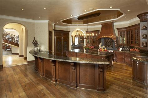 kitchens  double islands homes