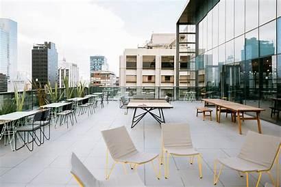 Wework Varsovia Terrace Mexico Coworking Officelovin Tour