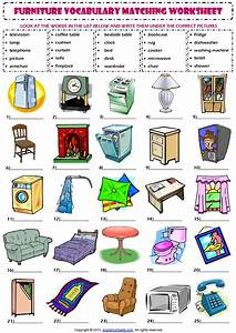 Vocabulary engleuzivancija for Furniture for kitchen names