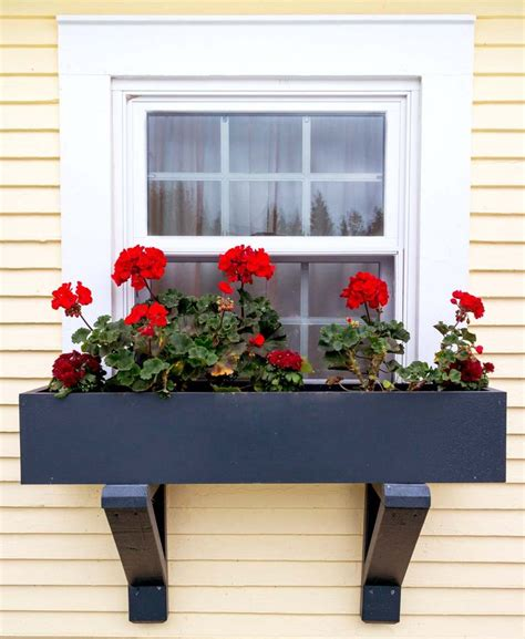 installing window boxes  vinyl siding diy window box