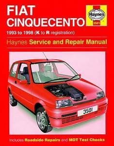 Haynes Manual Fiat Cinquecento  1993