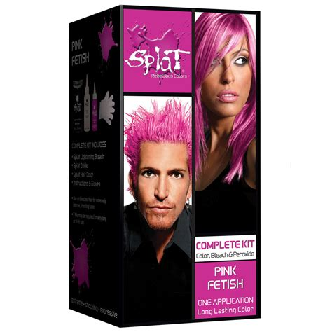 Splat Rebellious Colors Semi Permanent Hair Dye Pink