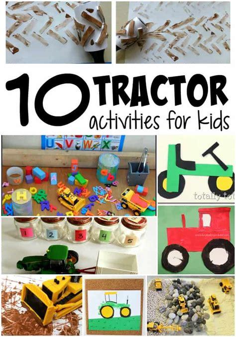 educational tractor activities  kids