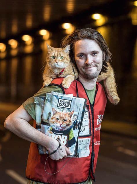 James Bowen And Street Cat Bob The Extraordinary Tale