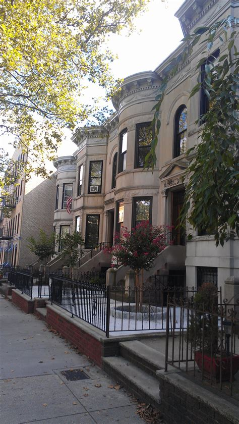 street beautiful row  limestone homes bay ridge ny