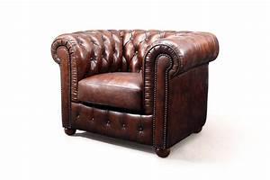 Fauteuil Cuir Marron Vintage : fauteuil chesterfield original rose moore ~ Teatrodelosmanantiales.com Idées de Décoration