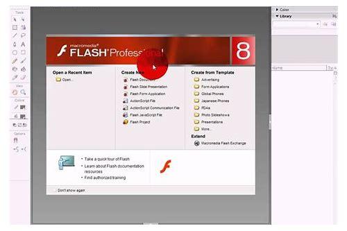 baixar numero de serie flash 8