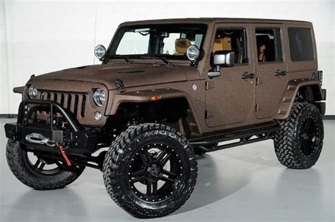 chjwdggl  jeep wrangler unlimited jk  door lifted custom sport wd starwood
