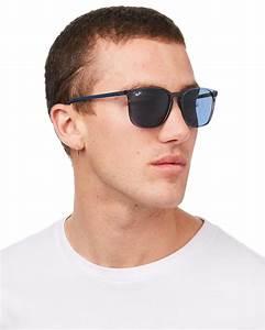 Ray-Ban 0Rb4387 Sunglasses - Transparent Blue   SurfStitch  Transparent