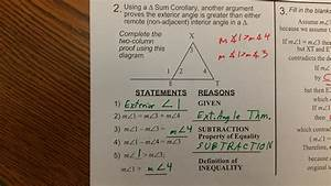 Congruent Triangle Proofs Worksheet Pdf