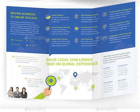 Ad Agency Brochure Design by 35 Marketing Brochure Designs Psd Ai Indesign Vector