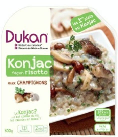 konjac cuisine kar駘饌 konjac facon risotto de regime dukan