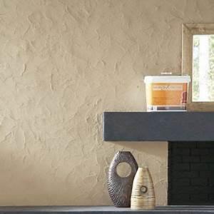 enduit decoratif a teinter cirer murs d39autrefois castorama With peinture murs d autrefois