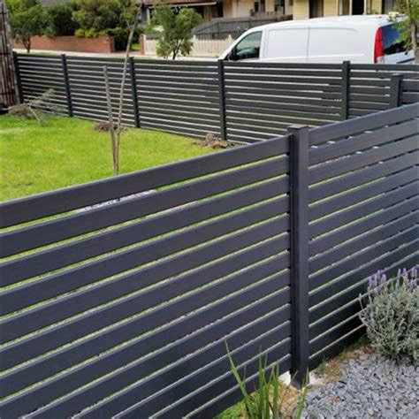 china australia fence panel horizontal slat fencing aluminum slat fence  gate china fence
