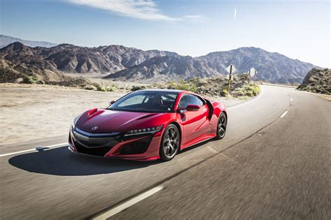 2017 acura nsx goes head 2 head with nissan gt r