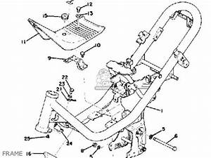yamaha lb80 2ac 1976 1978 parts lists and schematics With diagram of suzuki motorcycle parts 1978 gs750b kick starter diagram