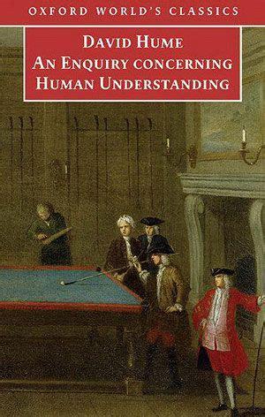 david hume  enquiry  human understanding