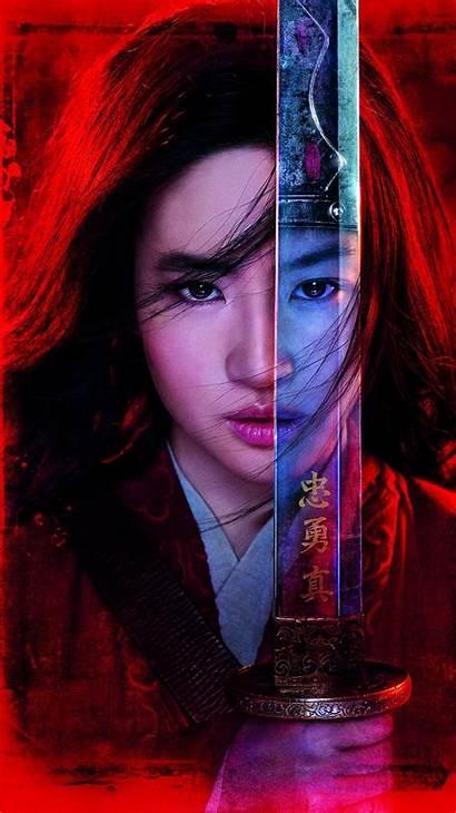 Mulan Warrior Wallpapers Liu Yifei Disney Movies