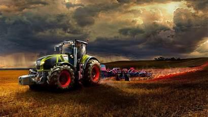 Tractor Field Working Wallpapers Fire Desktop Backgrounds