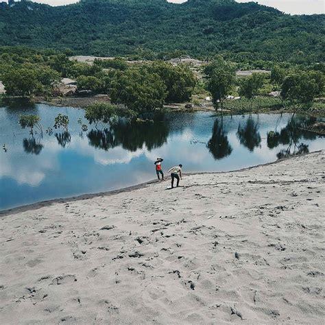 makin asik wisata gumuk pasir jogja  ditata lebih cantik