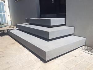 Treppenstufen Außen Beton : betontreppen ein blickfang im haus planungswelten ~ A.2002-acura-tl-radio.info Haus und Dekorationen