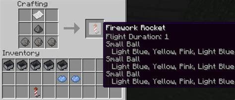 minecraft fireworks  multiple stages   minecraft fireworks    pink fireworks
