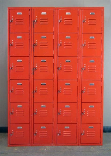 red box lockers  sale