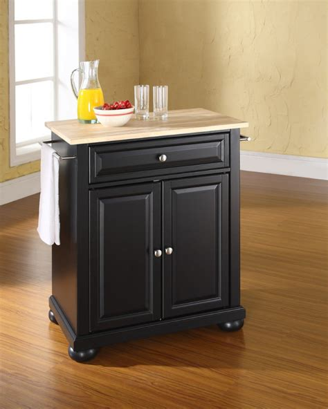 solid wood kitchen island cart the attractive black kitchen island completed by back