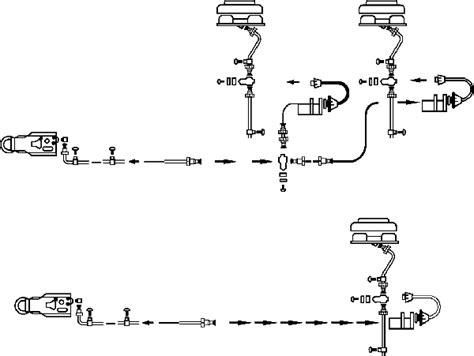 hydraulic trailer brake line parts diagram