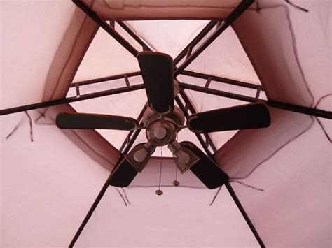 lightweight gazebo ceiling fan gazebo fan bloggerluv com