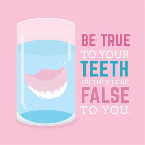 TAKE CARE of your teeth, and you'll be able to keep them