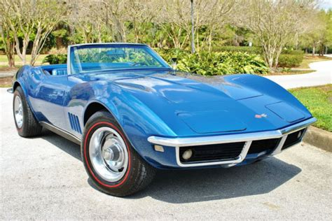 1968 Chevrolet Corvette Convertible Numbers Matching 327
