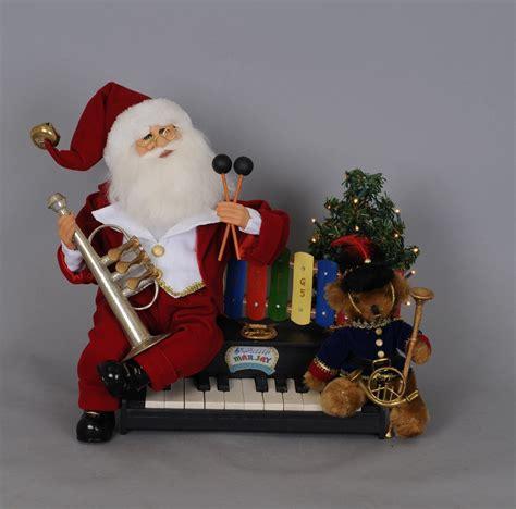 karen didion originals sc37 lighted music santa