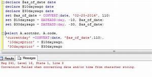 sql - tsql - Co... Sql Variables Quotes