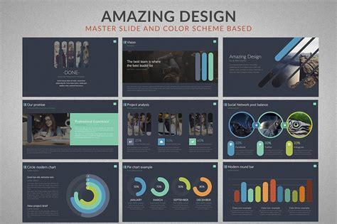 powerpoint vorlage  fuer design und fotografie