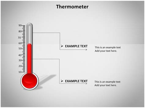 thermometer powerpoint templates  backgrounds