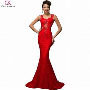 elegant 2015 robes de soiree longue sirene grace karin With robe imprimée longue