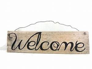254 best my creations images on pinterest reclaimed With welcome sign letters