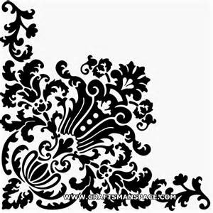 corner design ornament vector