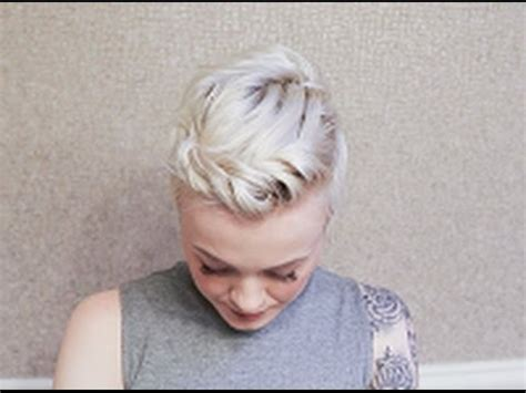 twisted pixie cut hairstyle youtube