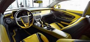 Camaro Bumblebee Edition Interior