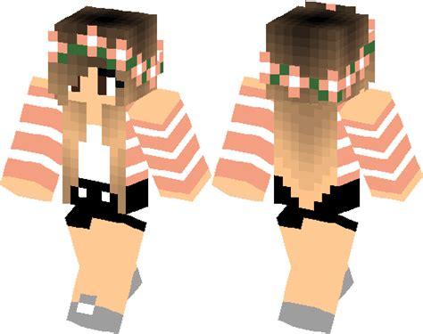 Spring Cute Girl  Minecraft Skin  Minecraft Hub