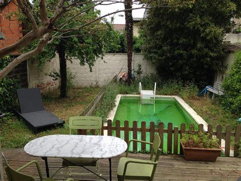 chambre piscine maison de ville terrasse piscine location chambres bordeaux