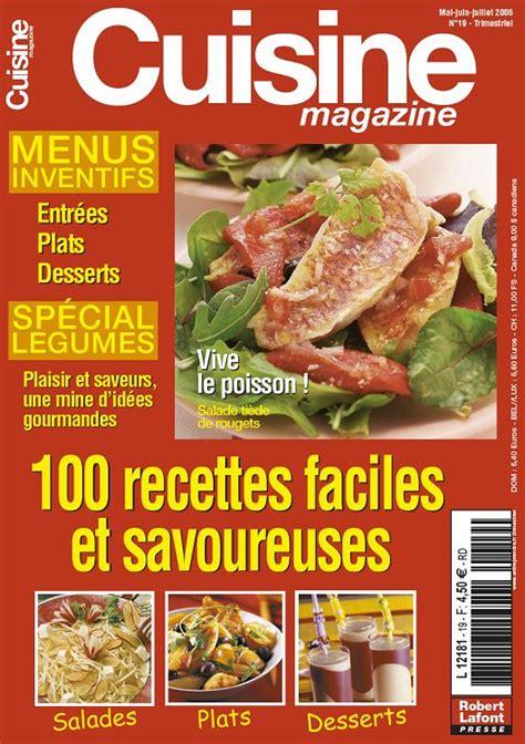 magazines de cuisine cuisine magazine n 19 mai jun jui 2006 page 80 81