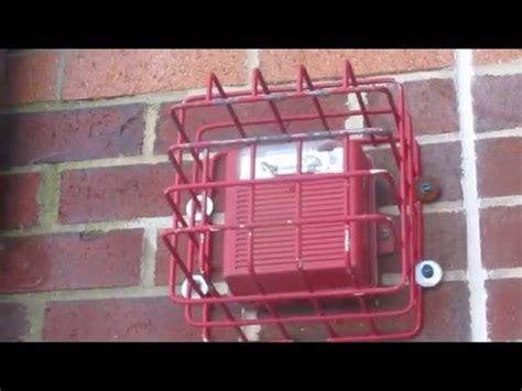 wheelock   fire alarm youtube