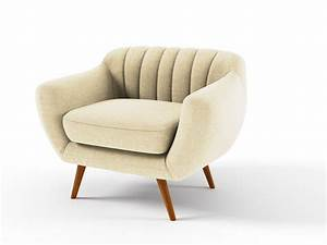 fauteuil tissu quotolsoquot creme 85960 85964 With creme renovatrice canape cuir