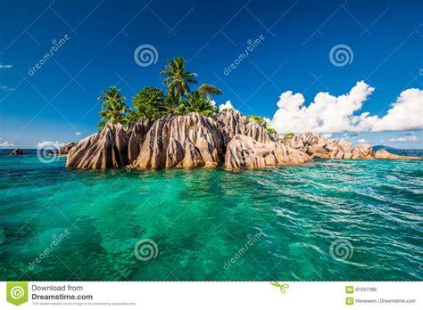Island Seychellen Preise by St Island Bei Seychellen Stockfoto Bild