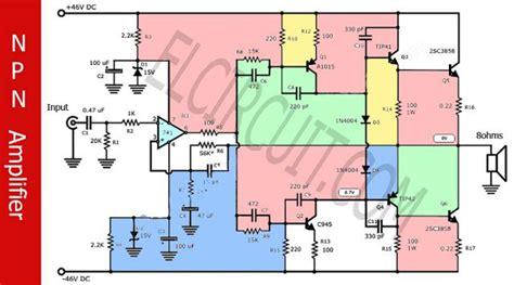 Discrete Integrated Amplifiers Audio Schematic